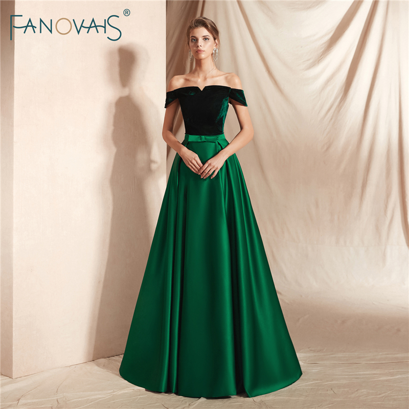 Lovely Dark Green Dress - Maxi Dress - Gown - Bridesmaid ...