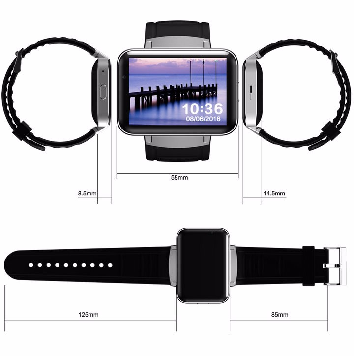 2.2-Display- 320240-LED-DM98-Smart-Watch-Android 5.1- MTK6572A-Dual-core -1.2G -900Mah -Camera-WIFI-3G-QQ-GPS-App-For-Smartphone (11)