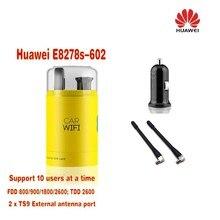 Huawei e8278 e8278s-602 800/900/1800/2600 мГц FDD TDD USB 4 г Wi-Fi карман модем плюс 2 шт. антенны