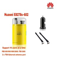 Huawei E8278 E8278s 602 800/900/1800/2600MHz FDD TDD usb 4g wifi pocket modem Plus 2pcs antenna