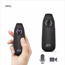 Anel VRFEL Mini câmera DV gravador de vídeo HD 1080 P 12MP 130 graus wide angle detector de movimento DV DVR câmera de vídeo IDV007