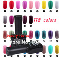 N-18 ,Black bottle uv gel polish ,118colors for your choice