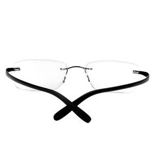 Image 4 - Очки для близорукости в титановой оправе без рамки