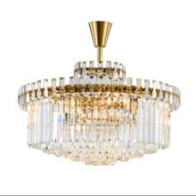 Postmodernen Luxurise Atmosphre Deckenleuchte Gold Farbe K9 Kristall Fr Wohnzimmer Schlafzimmer Lamparas Lampen