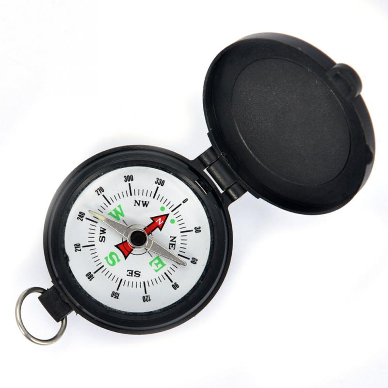 1PC Compass Military Camping Hiking Army Style Survival Marching Pointing Guider Compass Survival High Quality Bussola Brujula