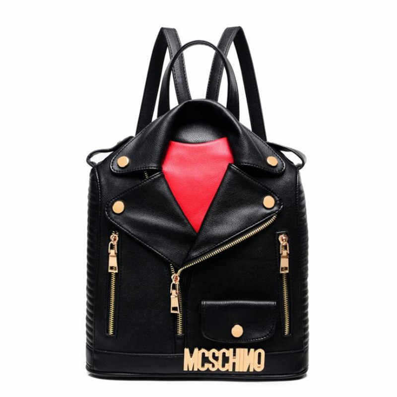 Женская дорожная сумка на плечо, женская школьная сумка, хит продаж 2019, Модная уникальная Дизайнерская одежда, женские кожаные рюкзаки из искусственной кожи