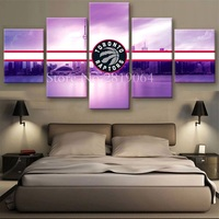 Unframed Oil Painting Toronto Raptors Sports Style Picture Printed On Canvas Cuadros Lienzos Decorativos Novel Design