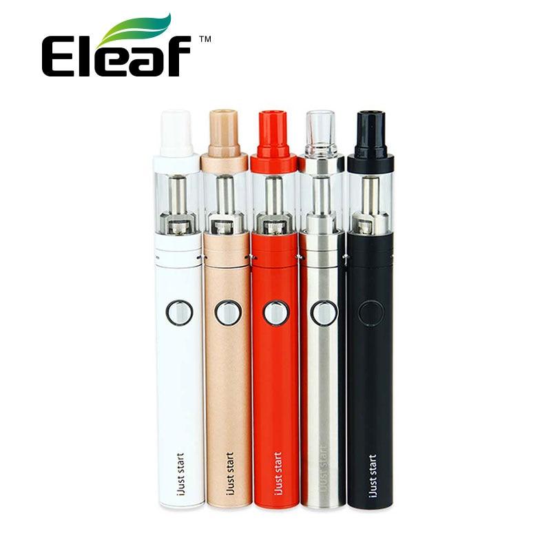 100% Original Eleaf iJust e-Cigarette Start Kit with 2.3ml GS Air 2 Atomizer & 1300mAh iJust Start Battery Vaporizer ecig Kit