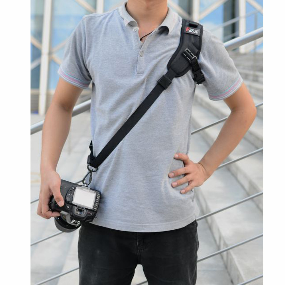 DSLR Camera Single Shoulder Sling Strap For Nikon P900 P900S D7000 D7100 D7200 D3100 D3200 D3300 D3400 D5600 D5500 D5200 D750