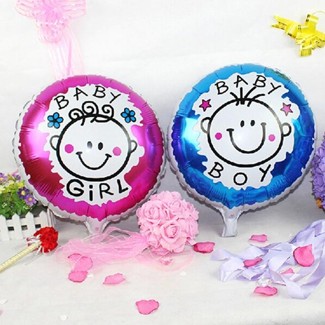 2018 Rushed Balon Baby Boy Girl Pattern Balloons Shower Happy