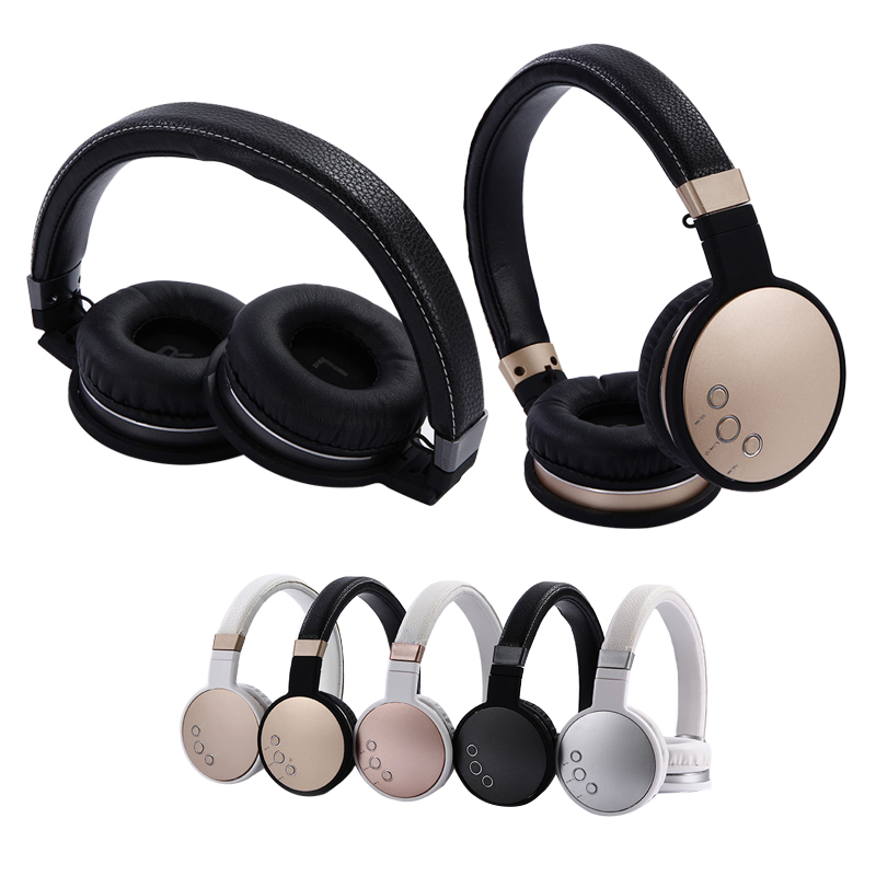 New Foldable Bluetooth Headphones Music Stereo Support TF Card Portable Headsets For Xiaomi Iphone Smartphone PC factory price new portable fashion bass stereo headphones portable for iphone ipad mac pc mp3 wh 160907 high quality