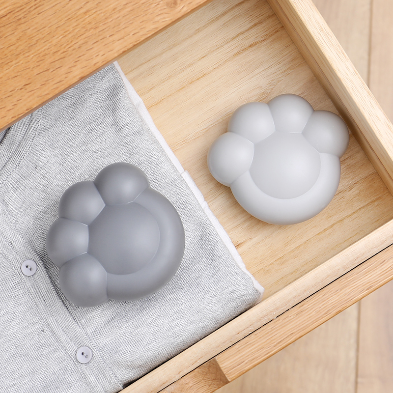 Cute cat claw Fridge Refrigerator Air Bamboo charcoal bag with sucker air purification Deodorant deodorant Odors Smell Remover