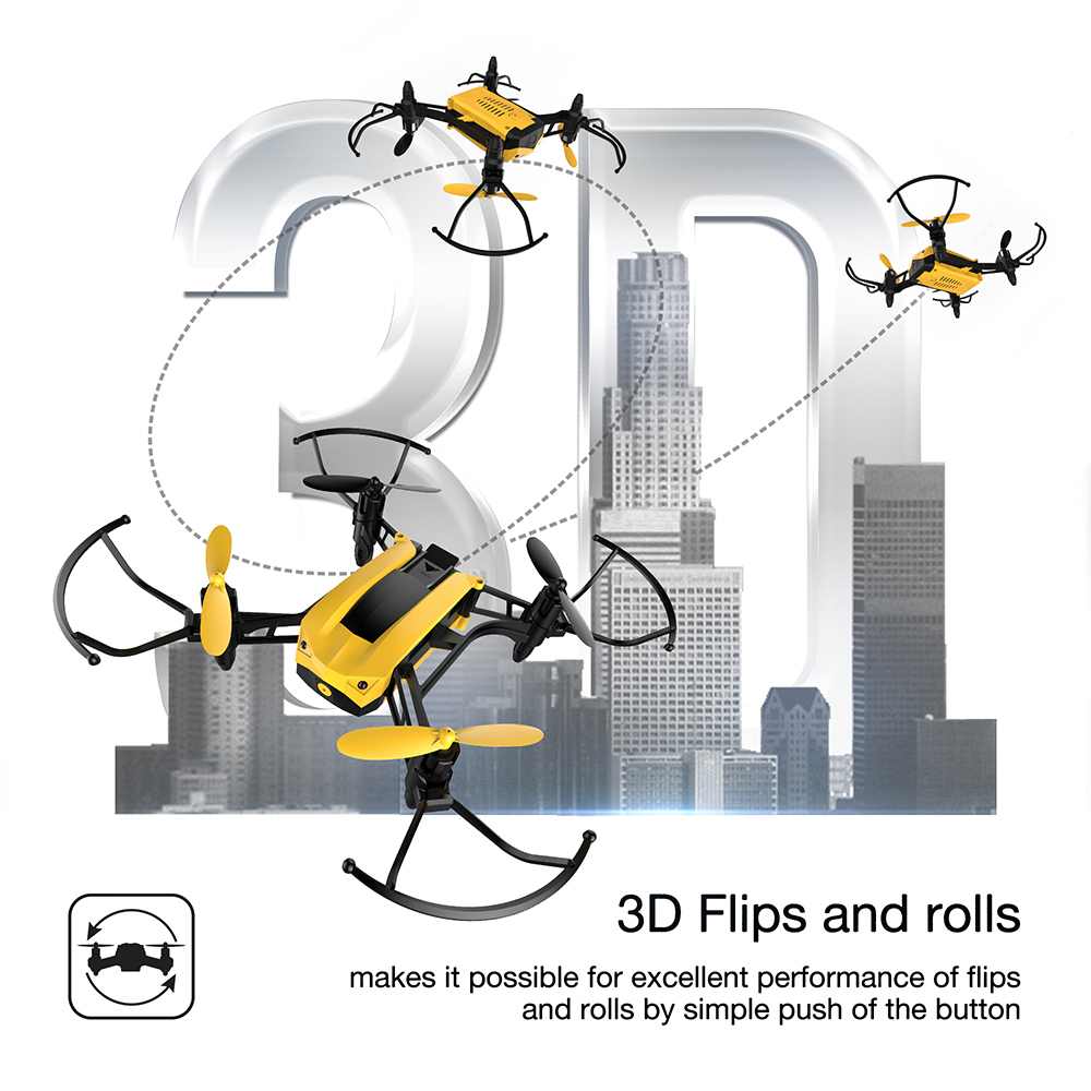 Holy Stone HS150 Bolt Bee Mini Racing Drone RC Quadcopter RTF 2.4GHz - დისტანციური მართვის სათამაშოები - ფოტო 6