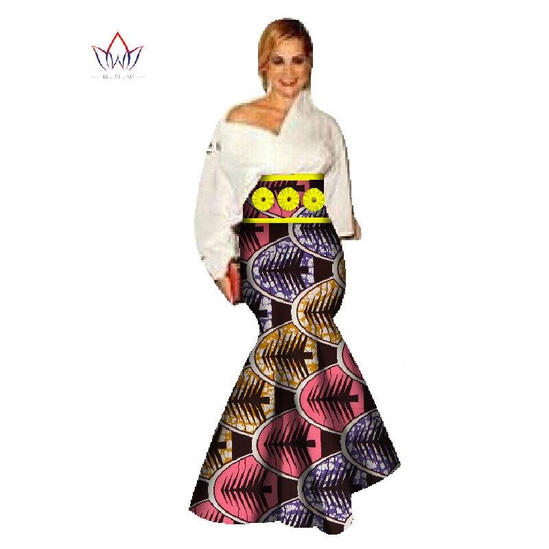 8513c0fb641e27 € 42.04 |Personnalisé africain impression jupe mode femmes vêtements  longues jupes africaines sirène Maxi jupe grande taille vêtements africains  ...