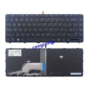 Laptop US klawiatura do hp Probook 430 G3 430 G4 440 G3 440 G4 445 G3 640 G2 645 G2 446 G3 E z podświetleniem