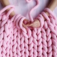 Winter 1KG Super Thick Chunky Yarns For Knitting Merino Wool Yarn 2.5CM Thick Cheap Yarns For Hand Knitting Blanket Crochet
