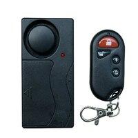 Draadloze Afstandsbediening Trillingen Sensor Security Alarm Independly Deur Window Detector