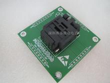 Z klapką QFN32 DIP32 4*4mm szerokość rzędów 0 4mm IC spalania siedzenia Adapter testowania miejsce badania testowania gniazd ławki w magazynie darmowa wysyłka tanie tanio Tester kabli JINYUSHI 4X4mm