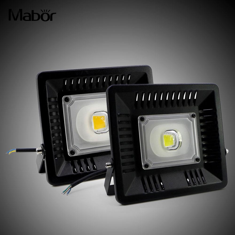 50W LED Bright IP65 Waterproof Ultra-Thin Cast Light Floodlight Bulb Lamps 220V