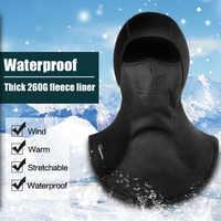 Wasserdichte Ski Gesicht Maske Motorrad Gesicht Maske Thermische Fleece Winddicht Schädel Gesicht Schild Balaclava Winter Biker Moto Balaclava