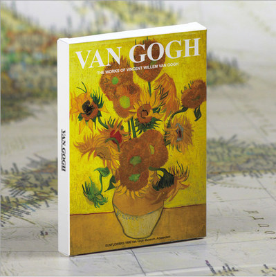 30sheets/LOT Van Gogh Postcard  vintage Van Gogh Paintings postcards/Greeting Card/wish Card/Fashion Gift 3d laser cut pop up greeting cards happy birthday postcards vintage chic retro peacock thank you gift message cards for girl