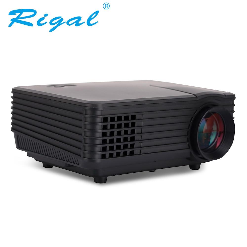 RD 805A New Hot 1200lumens fuLI HD 1080P Portable USB Home Theater Pico LCD LED Video