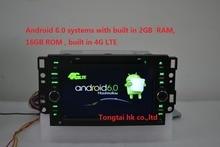 7 «2 din Android 6.0 автомобиль dvd gps для Chevrolet epica capativa тоска 4 Г LTE, Wi-Fi, bt, радио, rds, 2 ГБ RAM, 1024×600, поддержка dvr, obd2