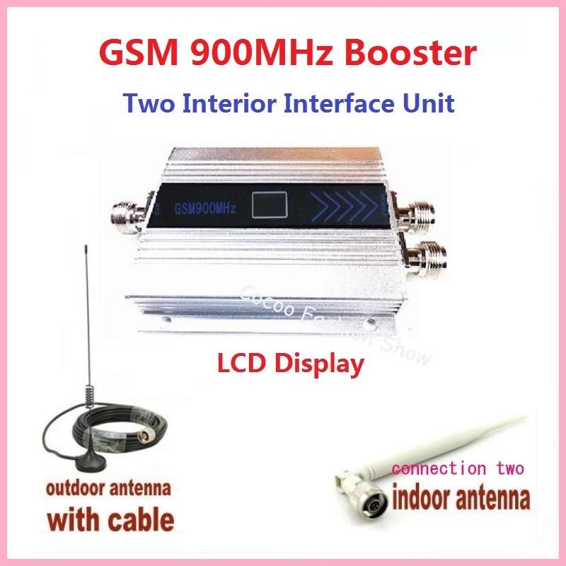 Led Screen display GSM 900mhz <font><b>cell</b></font> <font><b>phone</b></font> repeater celular mobile <font><b>phone</b></font> <font><b>Signal</b></font> Repeater booster,GSM <font><b>amplifier</b></font> + antenna 1 set