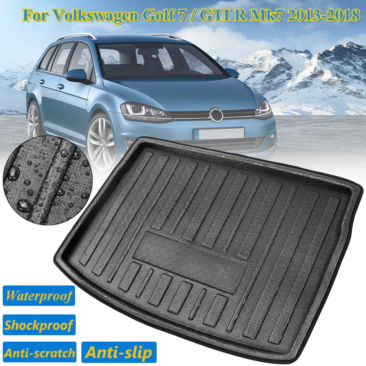 VW PASSAT B6 B7 2005-2015 ESTATE Only Boot Liner Trunk Insert Dog Mat Tray