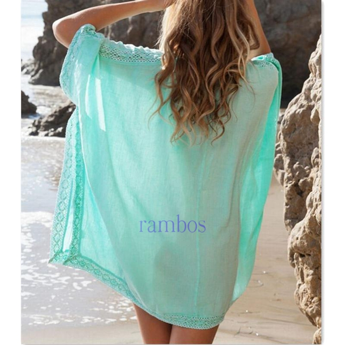 e632ff6b0fe9b Women Fashion Summer Beach Dress Bikini Swimwear Cover Up Sarong Sexy Wrap  Green Beach Tunic on Aliexpress.com | Alibaba Group