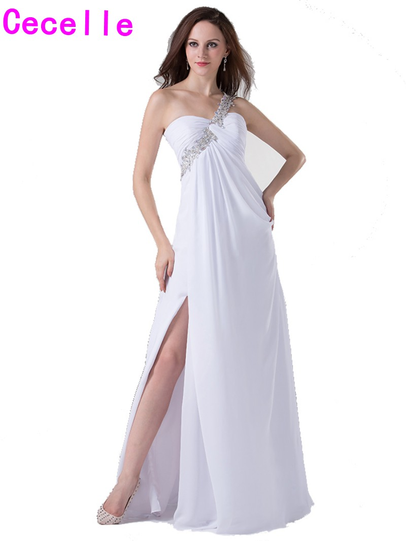 Popular Long White Evening Dresses-Buy Cheap Long White Evening ...