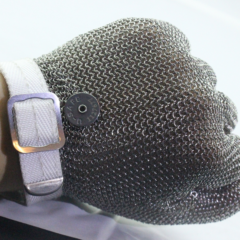Chainmail stainless steel white glove wood work preocessing protect hand gloveChainmail stainless steel white glove wood work preocessing protect hand glove