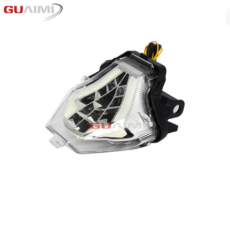 Motorcycle LED Bulb Tail Light Assembly Moto Brake Turn Signal Flasher Accessories For Yamaha MT 03 MT 25 YZF R3 2015 - 2018 17