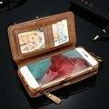 Floveme pu leather case para iphone 7 6 s 6 plus 5 5S se carteira retro capa protetora mobile phone bag para iphone 6 7 plus conchas