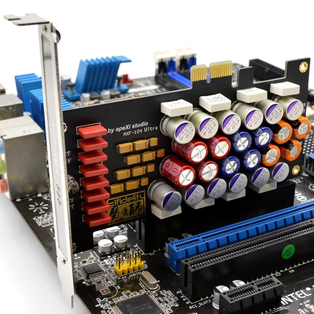 Elfidelity Rainbow Sugar2 HIFI PC Audio Power Filter Card PCI PCI Express Filter