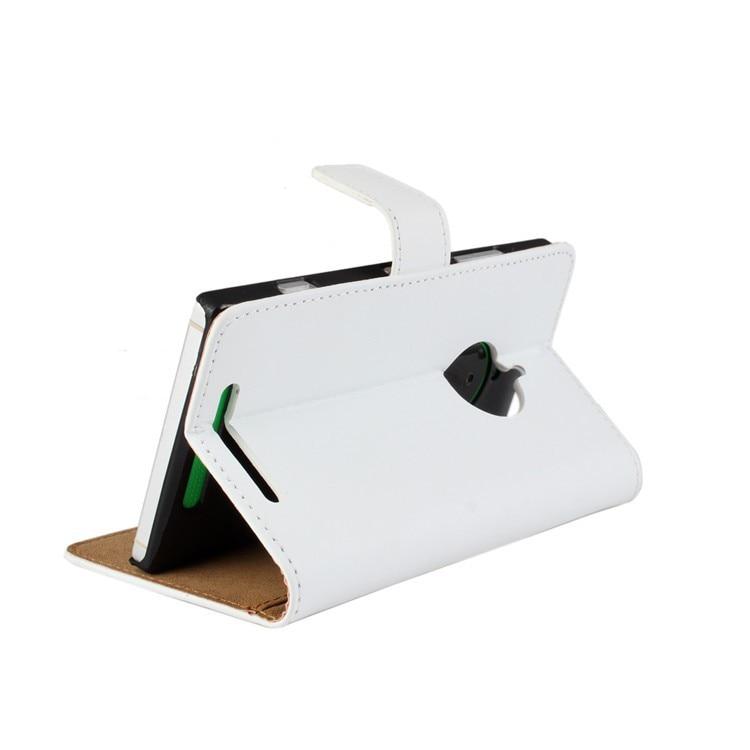 Стильный высококачественный чехол-бумажник из натуральной кожи с откидной крышкой для Nokia Lumia 830 задняя крышка-чехол для телефона с держателем для карт и подставкой