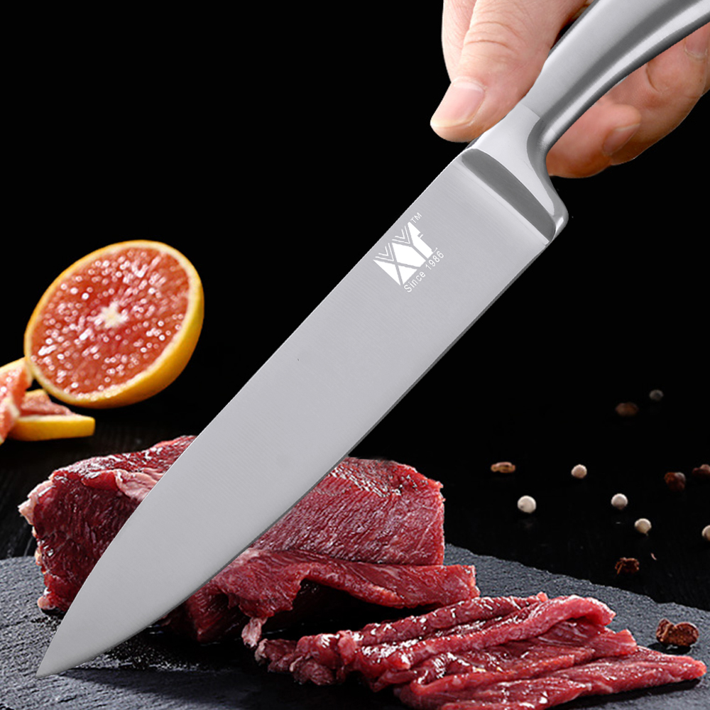XYj Japanese 7Cr17 Stainless Steel Kitchen Knife Ultra Sharp Blade Chef Knives Set Sushi Sashimi Vegetable Bread Fruit Knife in Kitchen Knives from Home Garden