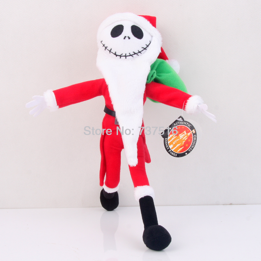 The Nightmare Before Christmas 12 Inch Jack Skellington Sandy Claws ...