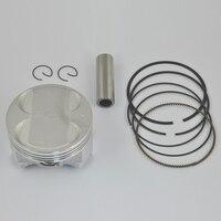 High Performance Motorcycle Piston Kit Rings Set For SUZUKI Burgman AN400 STD 50 100 Bore Size