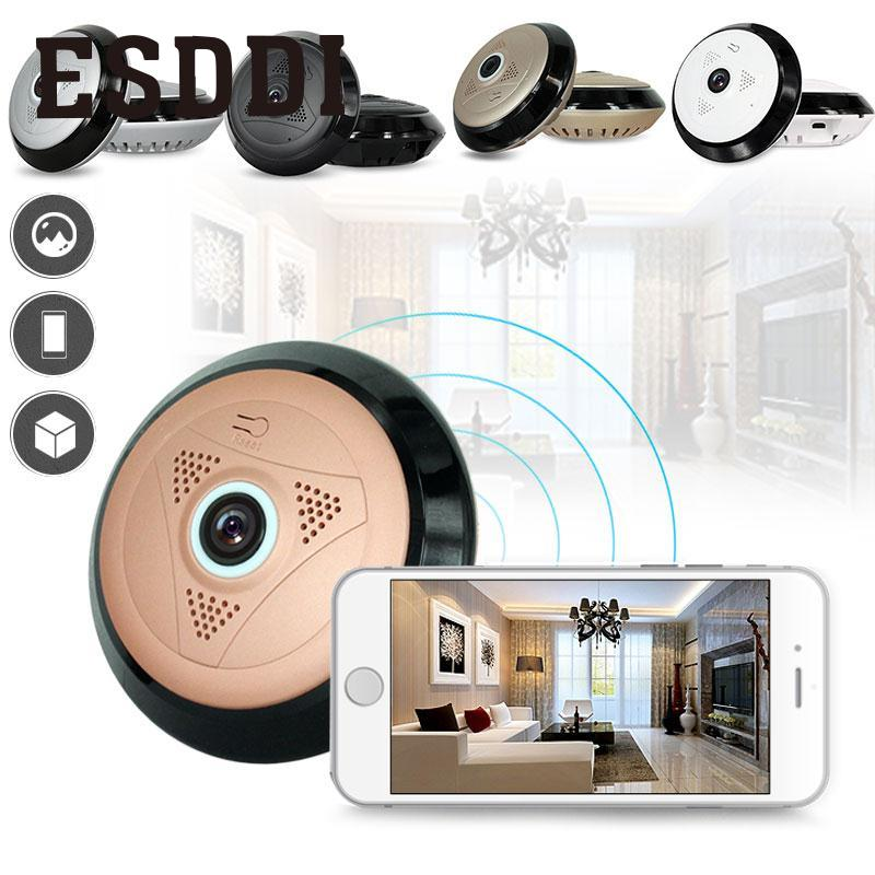 2017 New Hot Popular 360 Panoramic Fisheye HD Wireless WIFI Cam Home Security Camera Professional Safety Consumer Camcorders