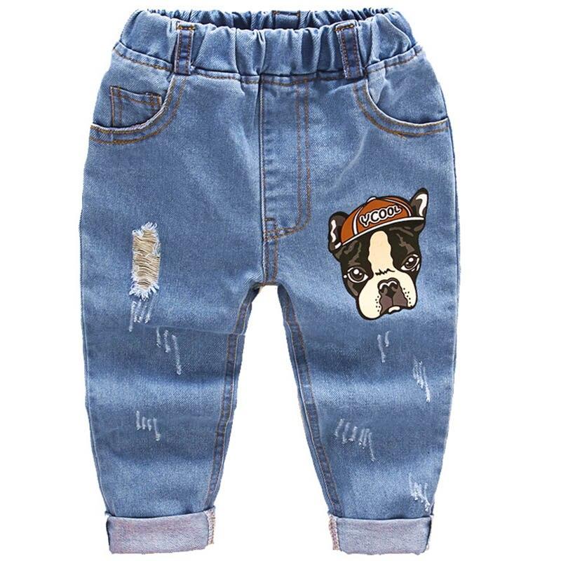 Baby Baby Broek Kinderen Jongens Meisjes Katoenen Jeans Kids Denim Harembroek Peuter Kruipen Zachte Leggings Pantalones Lente