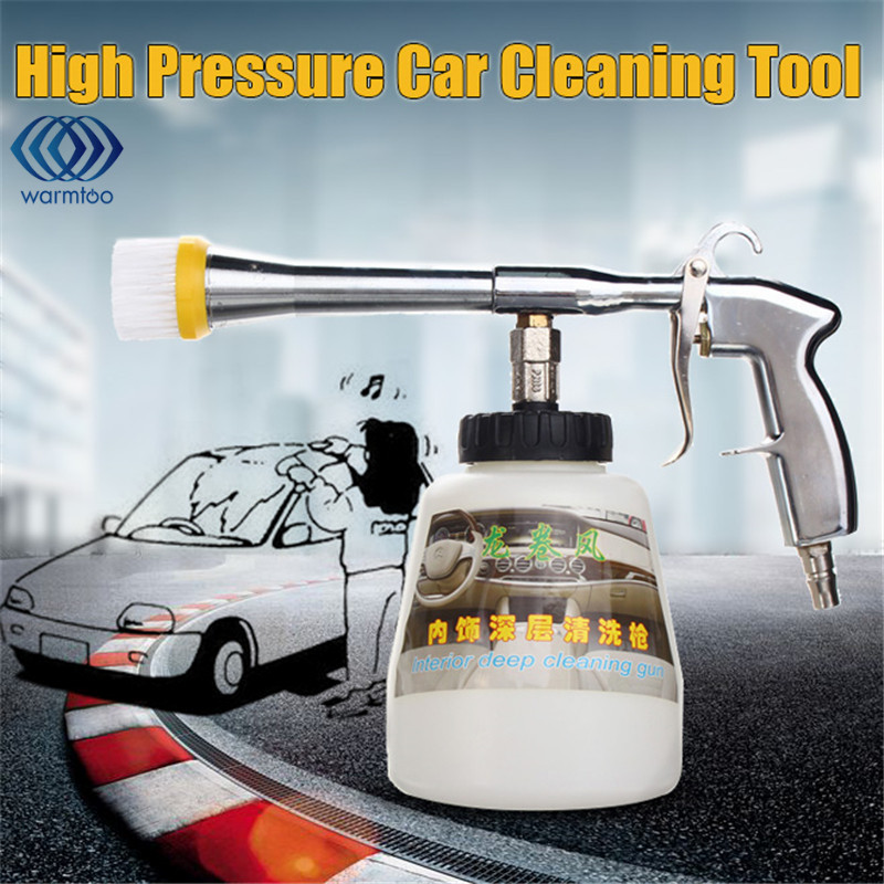Multi-function Car Cleaning  Spray Gun Pneumatic High Pressure Car Wash Bottle Tool Tornado Coating Sprayer Cleaner 1L 480l h portable wash device car washing machine cleaning pump household high pressure car wash pump