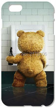 Funny Teddy I want a beer For iphone 4 4S 5 5S SE 5C 6 6S Plus For iPod Touch 4 5 6 Back Skin Hard Cover Mobile Phone Bags Case