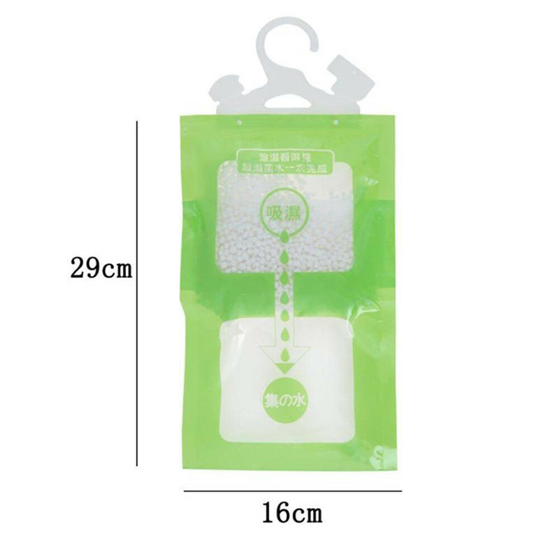 Image 4 - Hanging Wardrobe Hanging Moisture Bag Closet Cabinet Wardrobe Dehumidifier Drying Agent Hygroscopic Anti Mold Desiccant Bags-in Moisture Absorbers from Home & Garden