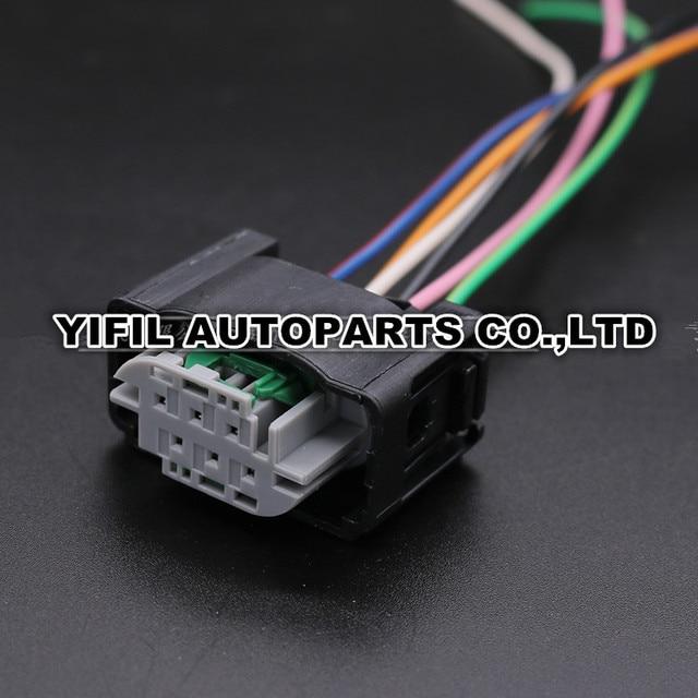 Sensational 5Pcs Lot 6 Pin Tyco Accelerator Pedal Plug Throttle Valve Sensor Wiring 101 Capemaxxcnl