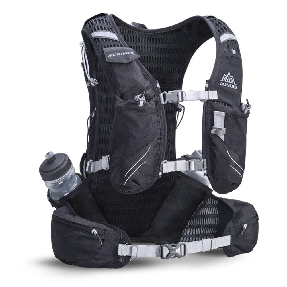 AONIJIE C929 hidratación ligera mochila bolsa para 3L agua de la vejiga para senderismo Camping corriendo maratón carrera deportes - 3