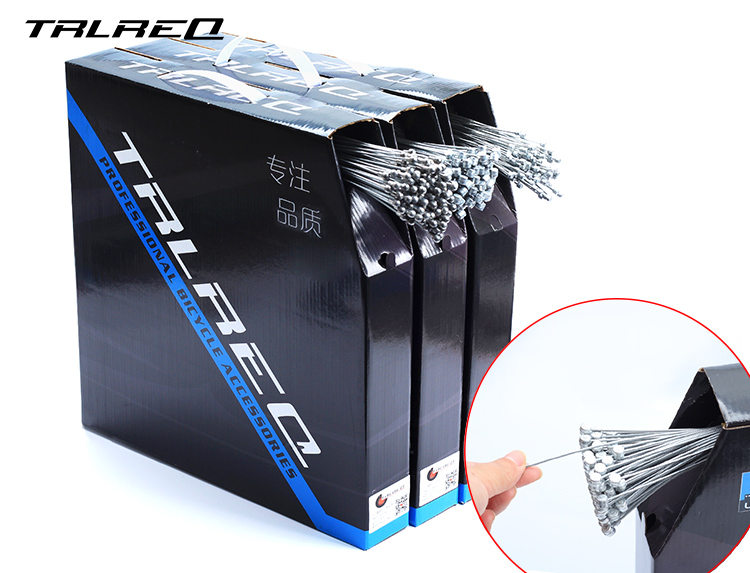 TRLREQ stainless steel road bike brake cable core bicycle shift 1.55/2.1 M accessory