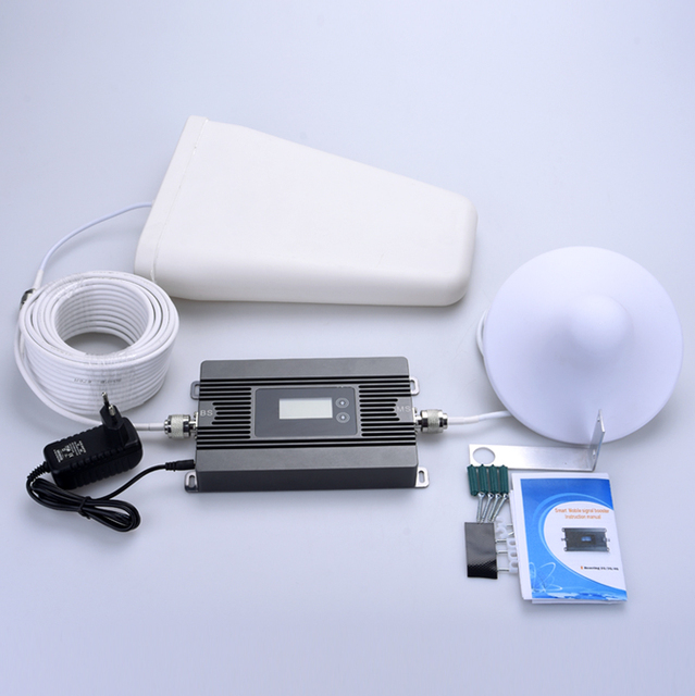 New sale! high gain 2G 4G 1800mhz  phone signal booster amplifier with indoor antenna and outdoor antenna and cable