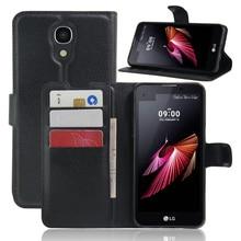Для LG X View K500DS/X Экран/K500N Чехол кошелек Стиль Чехлы для телефона из искусственной кожи с откидной крышкой для LG X Экран с подставкой и держатель для карт