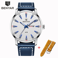 Men Watch BENYAR Wristwatch Mens Quartz Watches Top Brand Luxury Fashion Waterproof Sports Clock Relogio Masculino 2019